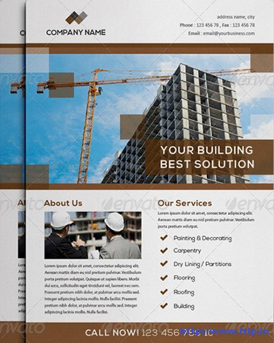 Construction-Business-Flyer