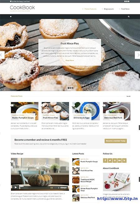 CookBook-Food-Magazine-Blog-Theme