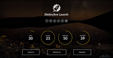 Distinctive-Launch-Coming-Soon-Plugin