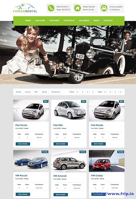Fair-Car-Rental-WordPress-Theme