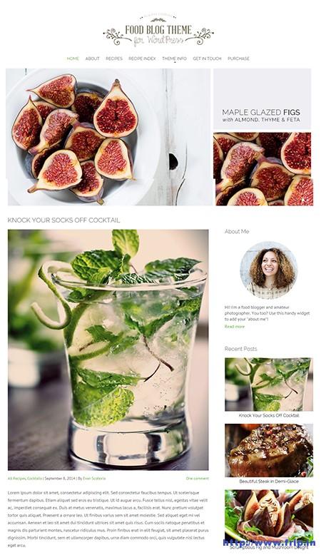 Food-Blog-WordPress-Theme