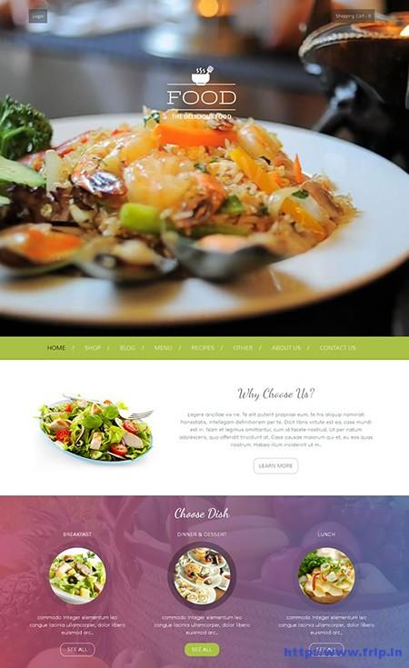 Food-Delicious-WordPress-Theme