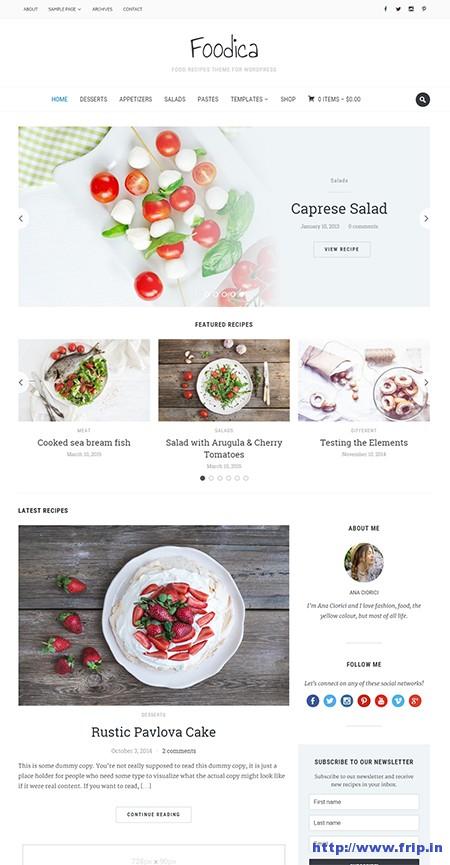 Foodica-Recipe-WordPress-Theme