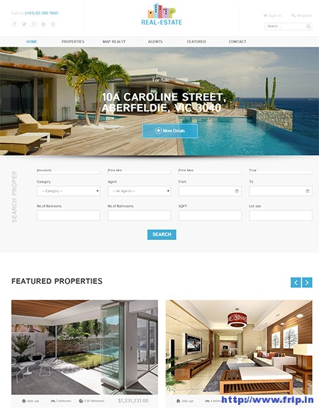 Functional-Real-Estate-Joomla-Template