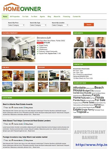 Homeowner-Real-Estate-WordPress-Theme