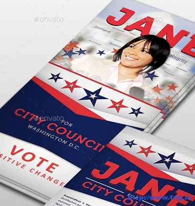 Jane-2-Political-Palm-Card-Template