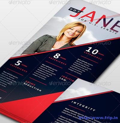 Jane-Political-Palm-Card-Template