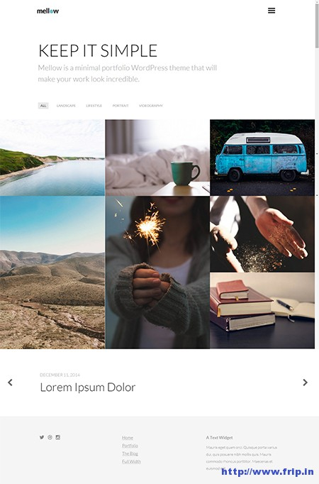Mellow-WordPress-Theme
