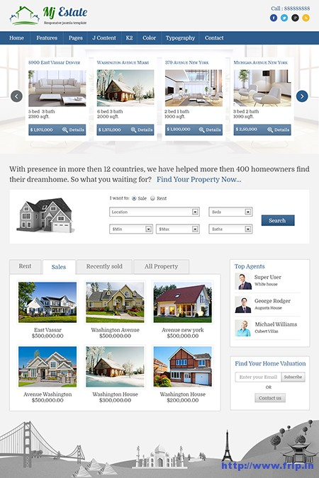 Mj-Estate-Joomla-Templates