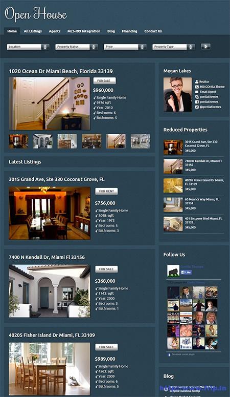 Open-House-Real-Estate-WordPress-Theme
