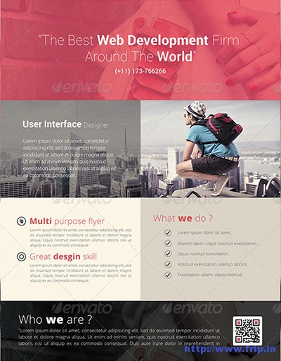 Parallax-Modern-Corporate-Flyer