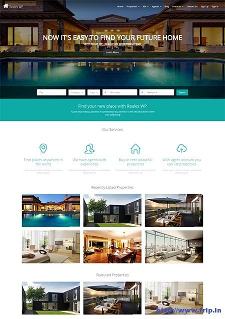 Reales-WP-Real-Estate-WordPress-Theme