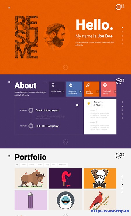 Resume-Creative-CV-WordPress-Themes