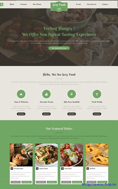 Sexy-Food-Restaurant-WordPress-Theme