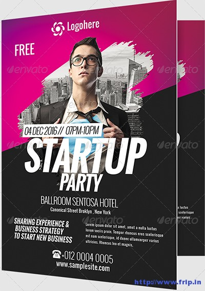 Startup-Business-Event-Flyer