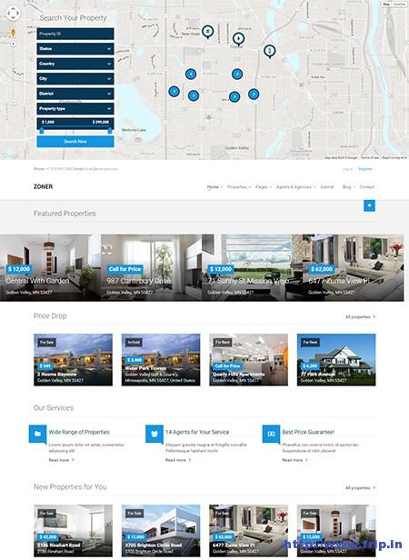 Zoner-Joomla-Real-Estate-Template