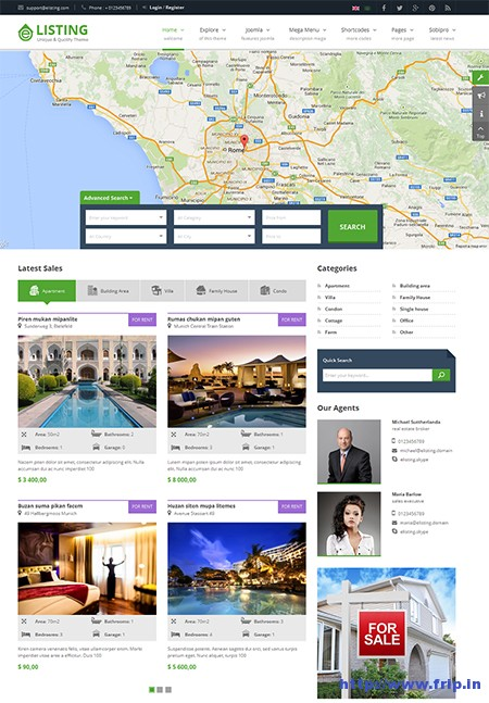 eListing-Responsive-Real-Estate-Joomla-Template