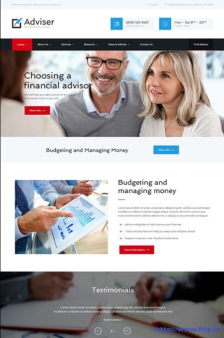 Advisor-Finance-&-Accounting-WordPress-Theme