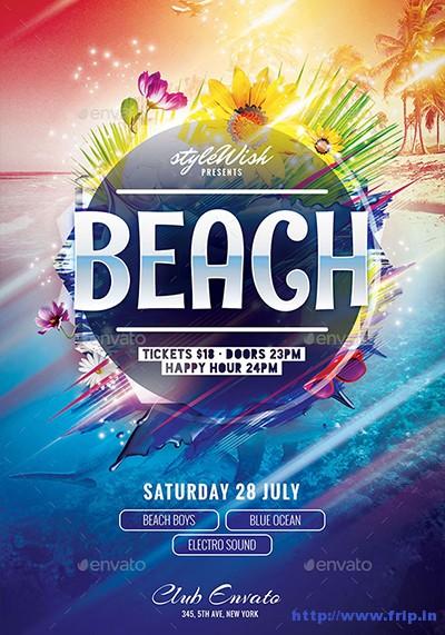 Beach-Flyer-Template