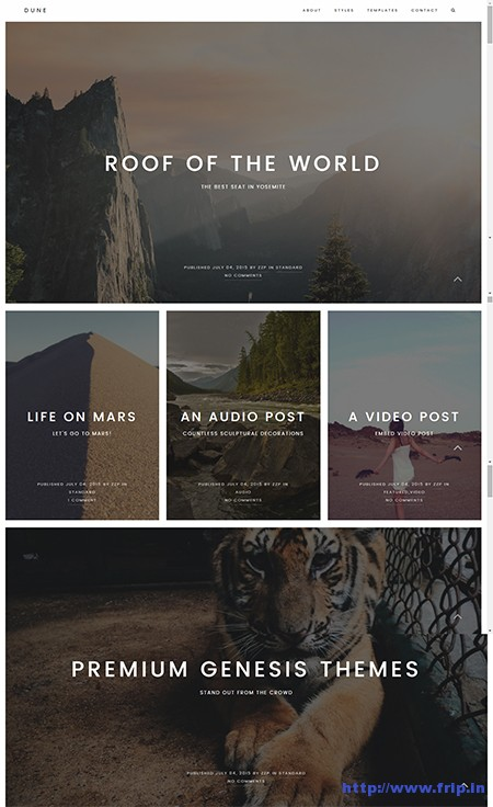 Dune-WordPress-Theme