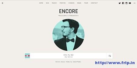 Encore-WordPress-Theme