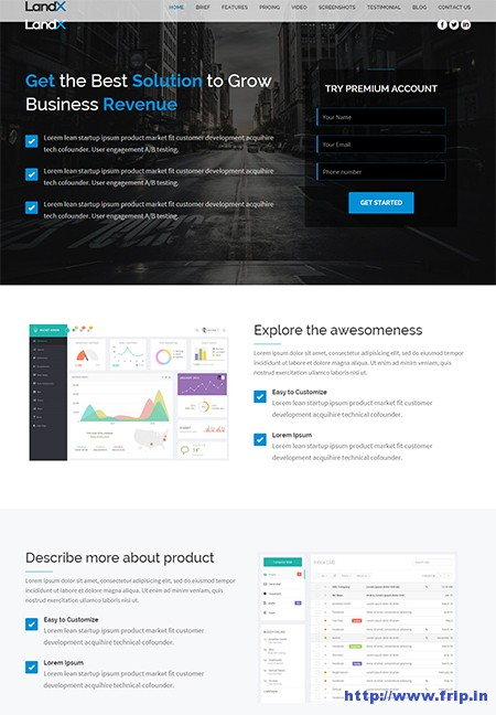 LandX-Multipurpose-Landing-Page-WordPress-Theme