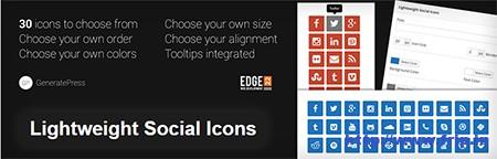 Lightweight-Social-Icons-Plugin