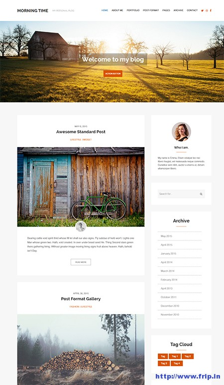 Morning-WordPress-Theme