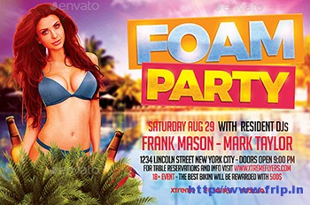 Pool-Foam-Party-Flyer