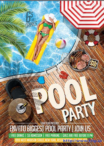 Pool-Party-Flyer-Template