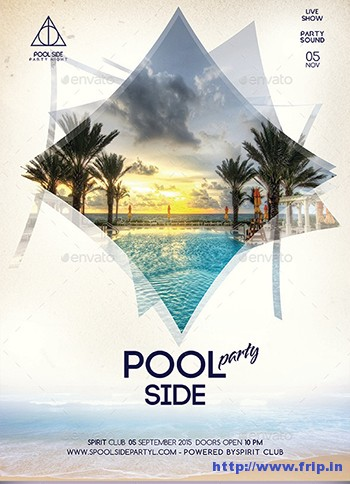 Pool-Side-Party-Flyer