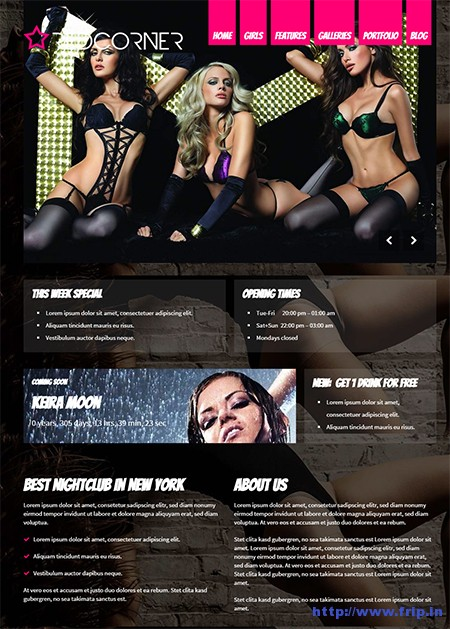 Redcorner-Strip-Club-WordPress-Theme