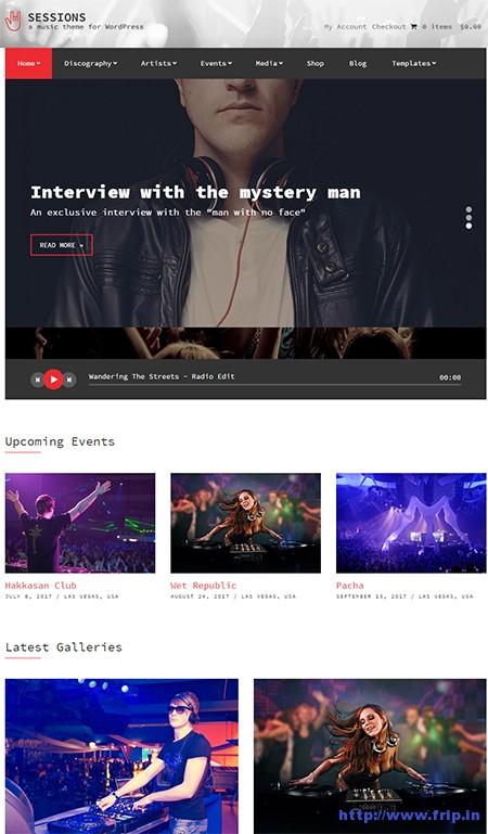 Sessions-Music-WordPress-Theme