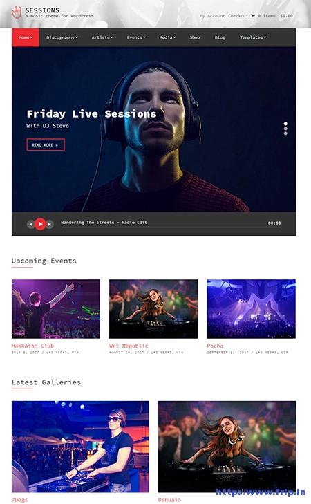 Sessions-WordPress-Theme