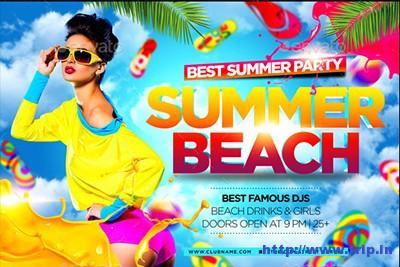 Summer-Beach-Flyer