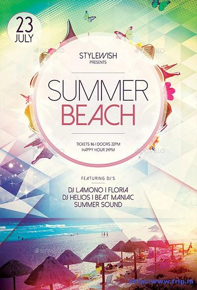 Summer-Beach-Flyers