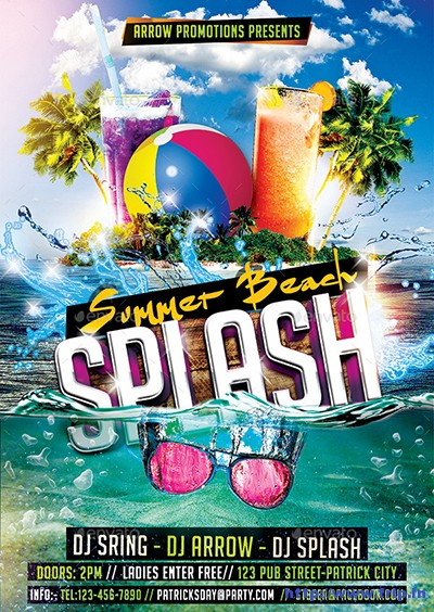 Summer-Beach-Splash-Flyer-Template