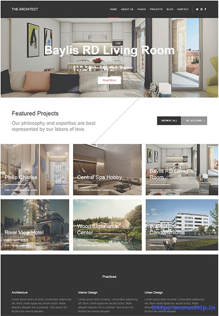 The-Architect-WordPress-Theme