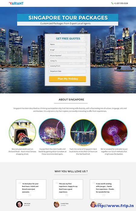 Variant-Landing-Page-WordPress-Theme