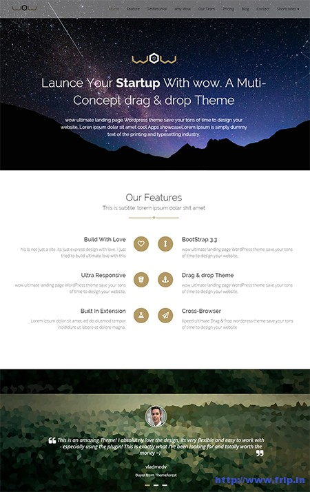 Xmobile-Landing-Page-WordPress-Theme
