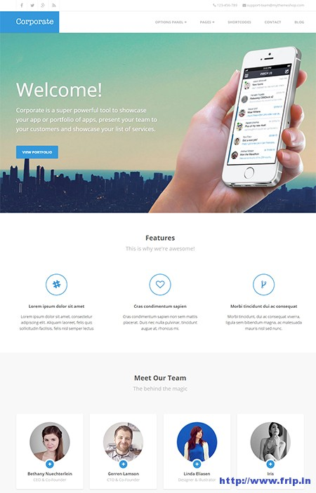 coporate-wordpress-theme