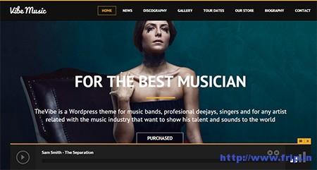 vibe-music-wordpress-theme