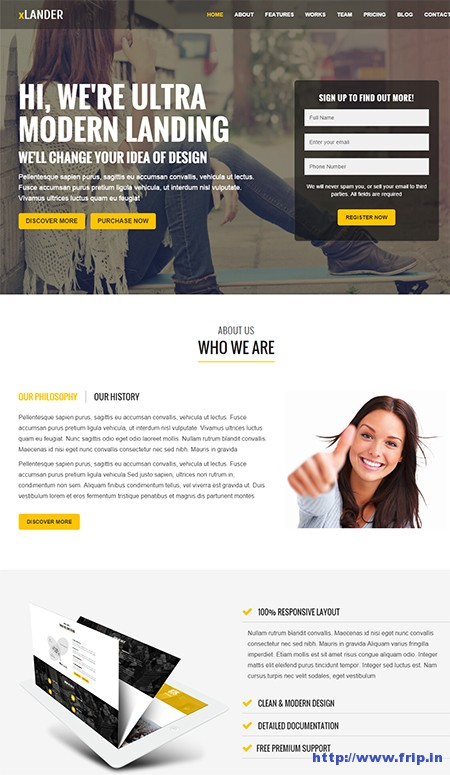 xLander-Landing-Page-WordPress-Theme