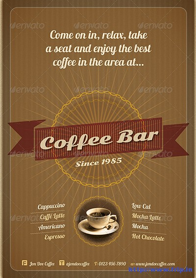 2-Double-Sided-Coffee-Bar-Flyers
