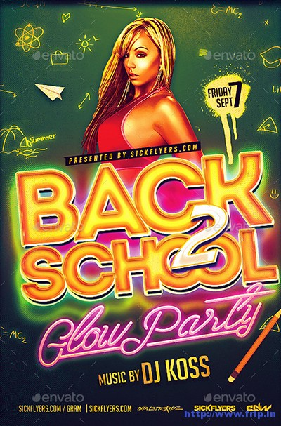 Back-To-School-Glow-Party-Flyer