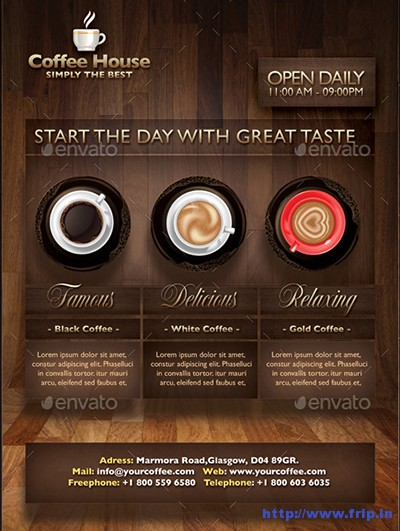 Coffee-House-Flyer-Templates