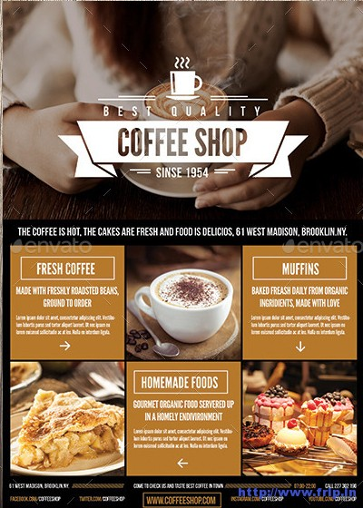 Coffee-Shop-Flyers