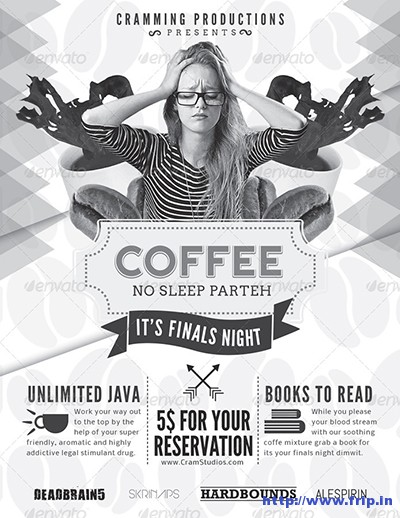 Coffee-Study-No-Sleep-Event-Flyer