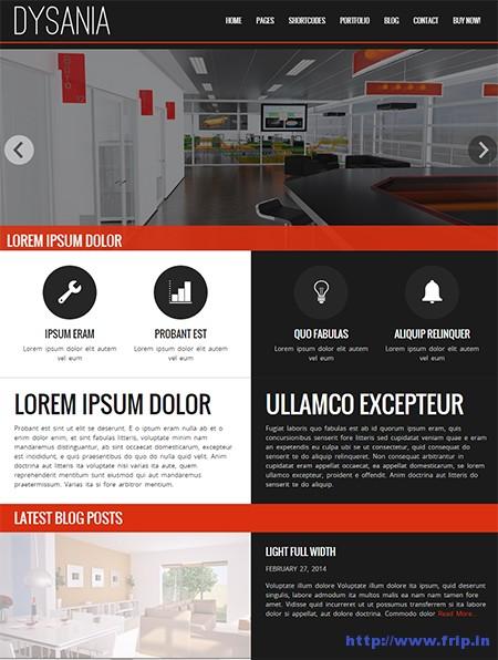 Dysania-WordPress-Theme