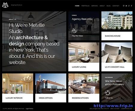 Melville-Architect-Builder-Designer-WordPress-Theme